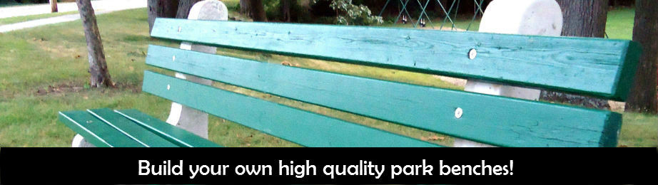 build your own park bench